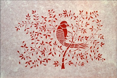 Sanjhi art the perfect craft of stencilling banner image