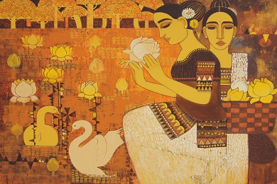 How do paintings play the biggest role in design and how to incorporate it banner image