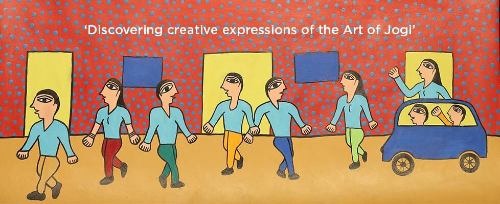 Art Of The Jogis  Exhibition on Mojarto