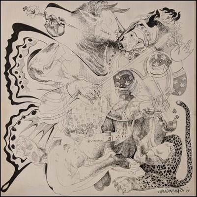 Untitled, Chandranath Acharya. On view at Art Houz booth