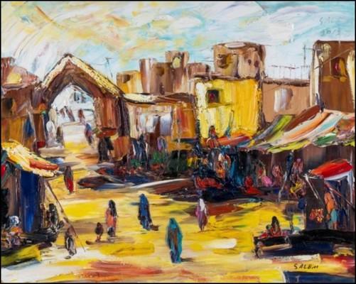 Untitled, Salim Sadiq. On view at Hunar Showcasing Art at OnArt Fair