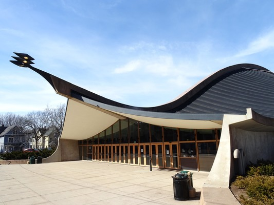 Eero Saarinen's 'Whale', Yale University, New Haven, USA