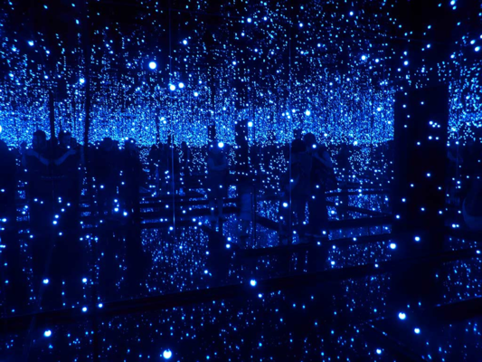 Yayoi Kusama, Infinity Mirror Room. Image Courtesy of the Artist and Flickr Creative Commons.