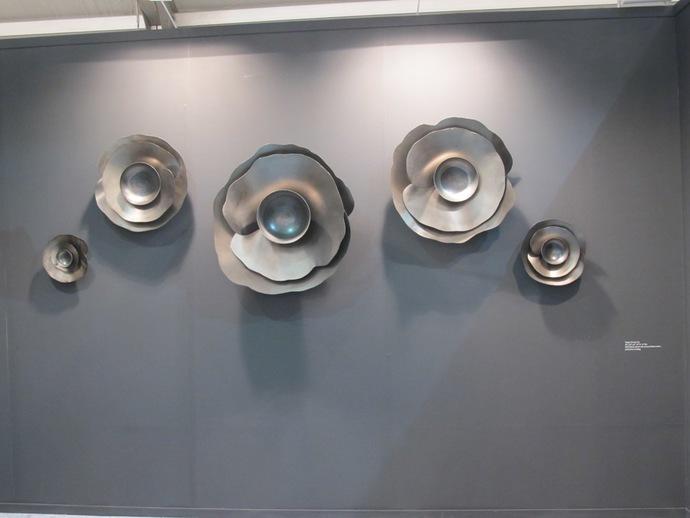 Poppy Set of 5 - Black Steel Artifact By Alex Davis