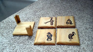 Burnt Bird Coasters Coaster Set By E'thaan Design Studio