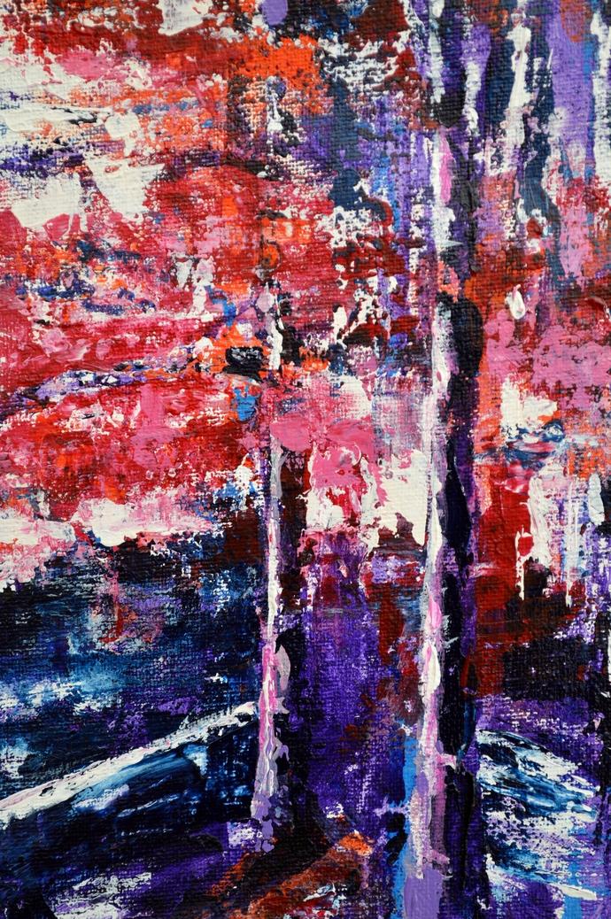 Springtime Digital Print by Usha Shantharam,Abstract