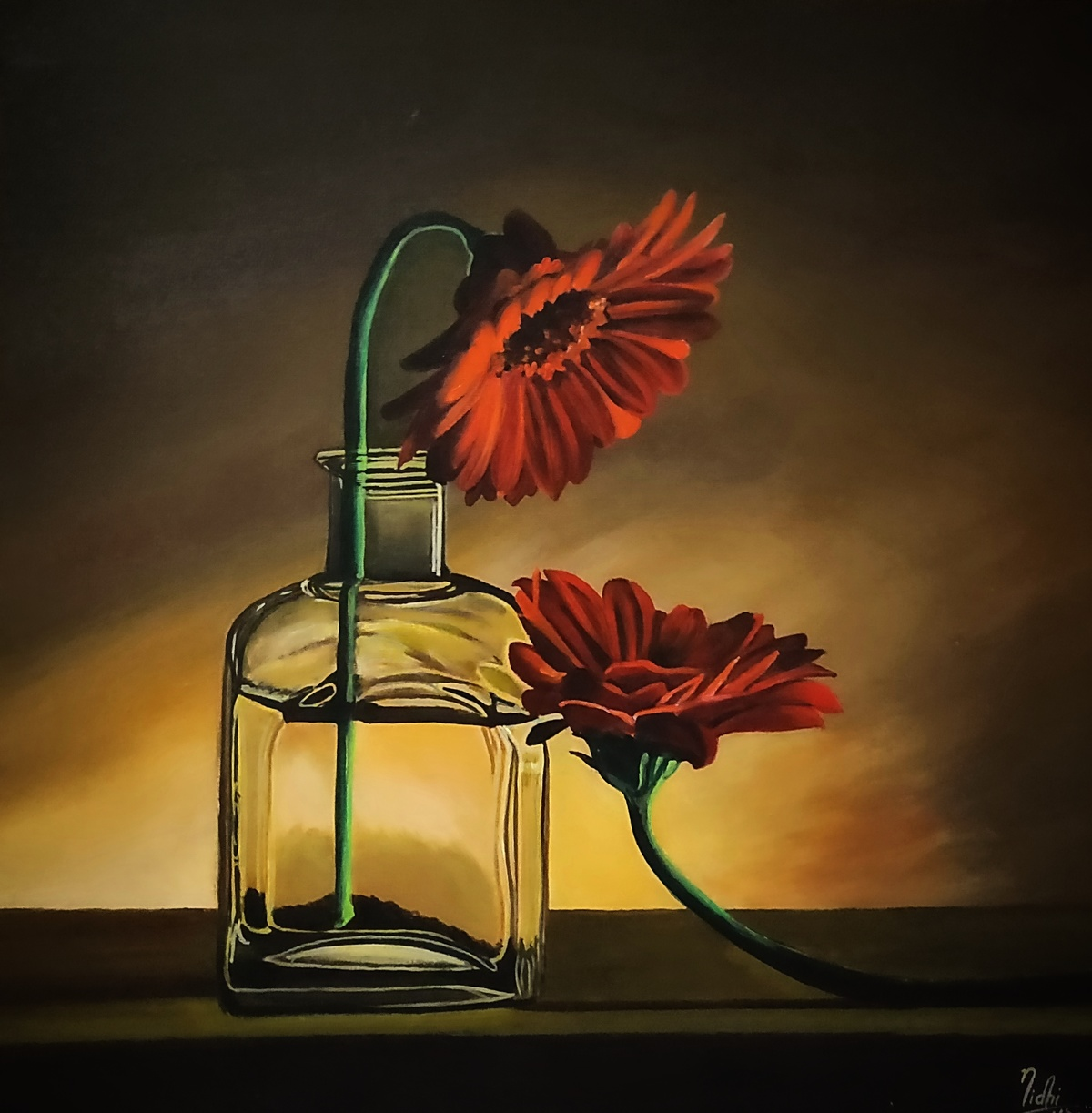 FRIENDSHIP by Nidhi Bhatia, Realism Painting, Acrylic on Board,