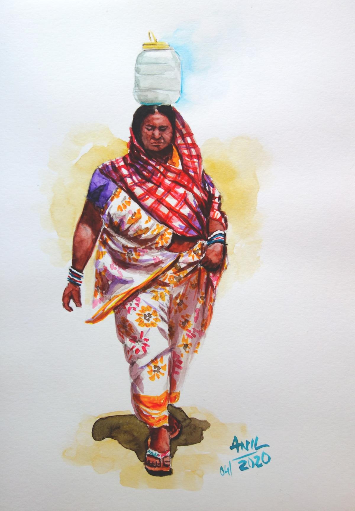 Tribal woman1