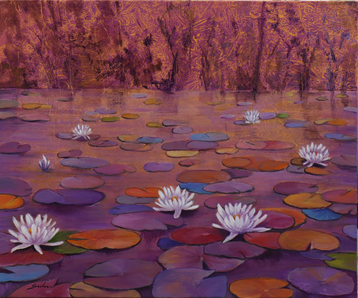 Lily pond 17  36x30