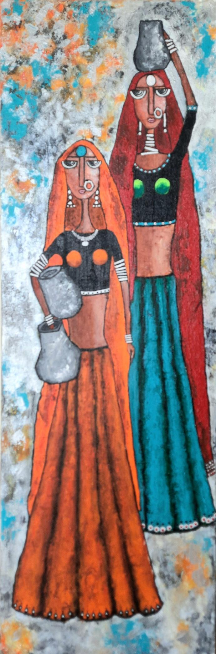 Indian contemporary Digital Print by Nidhi Gupta,Expressionism