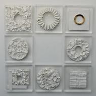 Multifaceted Self by Shweta Mansingka, Art Deco Sculpture   3D, Ceramic, Silver color