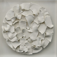 Multifaceted Self by Shweta Mansingka, Abstract Sculpture | 3D, Ceramic, Silver color