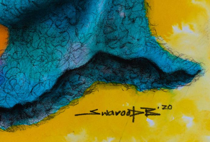 Alive Digital Print by Swaroop Biswas,Illustration