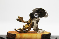 Steampunk Octopus by Nikhil Dayanand, Art Deco Sculpture   3D, Metal, Silver color