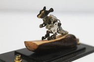 Steampunk Kangaroo by Nikhil Dayanand, Art Deco Sculpture | 3D, Metal, Silver color