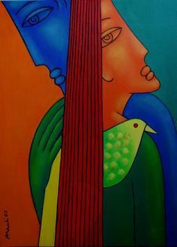Lover by Rajesh Shah, , , Brown color
