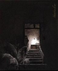 Life Corner 07 Staircase by Shrikant Kolhe, , , Black color