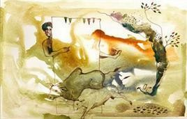 Relation by Satish Multhalli, , , Beige color