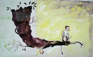 The Tree by Satish Multhalli, , , Beige color