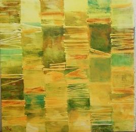 Untitled-6 by Gayatri Deshpande, , , Green color
