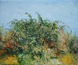 Rose Bush by Animesh Roy, , , Green color
