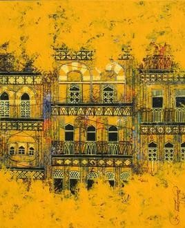 Old Is Gold - 1 by Suresh Gulage, , , Orange color