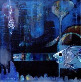 Big Boss by Pradip Sengupta, , , Blue color