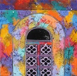 Window- 229 by Suresh Gulage, , , Brown color