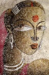 Santhali II by Dhananjay Mukherjee, , , Brown color