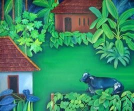 Native Series2 by Murali Nagapuzha, , , Green color