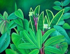 Foliage3 by Murali Nagapuzha, , , Green color