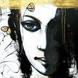 Portrait II by Mithun Dutta, , , Gray color
