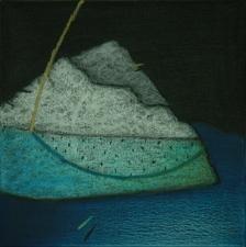 Terra Incognita 13 by Anil Gaikwad, , , Green color