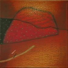 Terra Incognita 19 by Anil Gaikwad, , , Brown color
