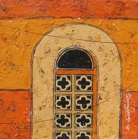 Window- 199 by Suresh Gulage, , , Brown color