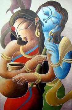 Nandlala by Dhananjay Mukherjee, , , Brown color