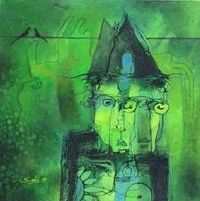 Vision by Mukesh Salvi, , , Green color
