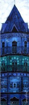 Blue Tower - 143 by Suresh Gulage, , , Blue color