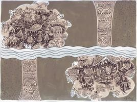 Composition by Rakhee Kumari, , , Brown color
