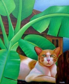 Native Series by Murali Nagapuzha, , , Green color