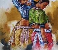Beauty-6 by Ramchandra Kharatmal, , , Brown color