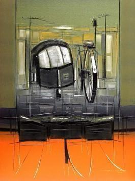 Traffic Control - 20 by Sujith Kumar GS Mandya, , , Beige color