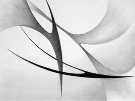 Destiny by Deviba Wala, Minimalism, Minimalism Painting, Acrylic on Canvas, Gray color