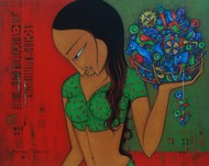 Toy Seller - 1 by H S BHATI, , , Green color