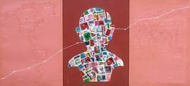 Path Of Progress 3 by Anil Kumar Yadav, , , Pink color