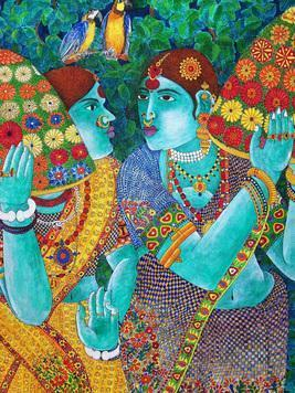 Bonalu by Narahari Bhawandla, , , Brown color