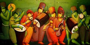 Sounds by Samir Sarkar, , , Green color