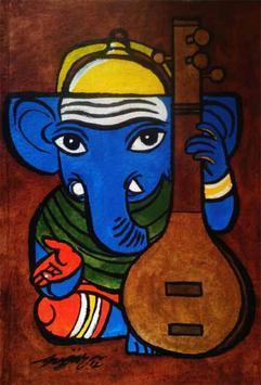 Ganesha-05 by Gujjarappa B G, , , Brown color
