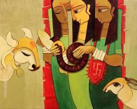 Jogva 6 by Sarang Waghmare, , , Brown color