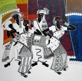 Rhythm Of The Seasons 14 by Anuradha Thakur, , , Gray color